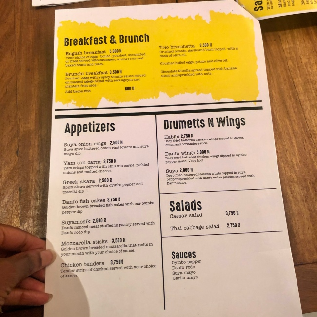 Places in Lagos|An Evening At Danfo Bistro & Dives
