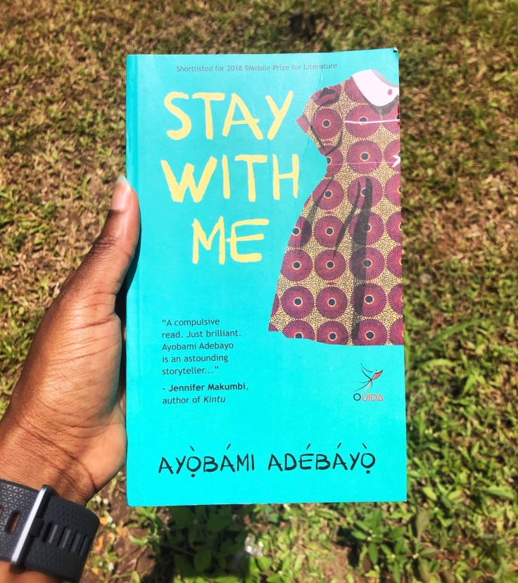BOOK REVIEW  Stay With Me