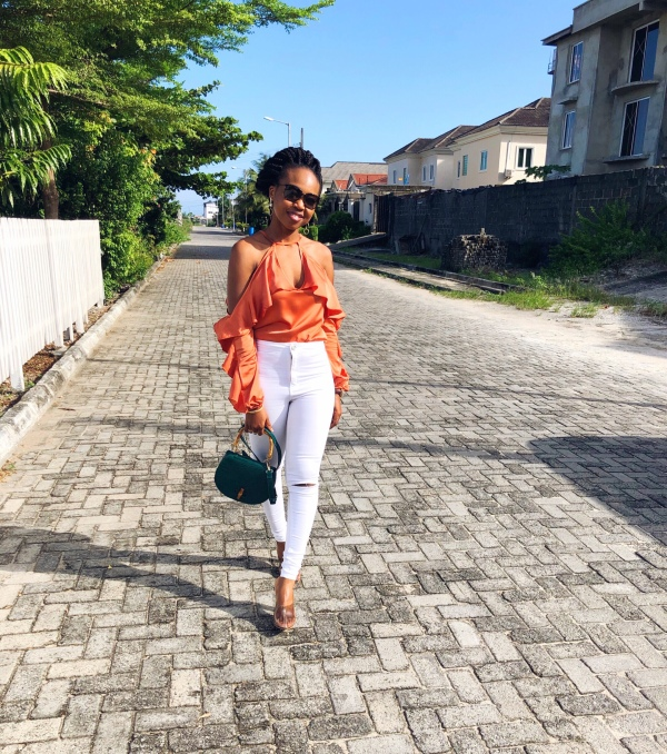 Trending: How I Paired My Dramatic Sleeve Blouse