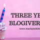 Blogiversary: Three Years Down, Forever To Go